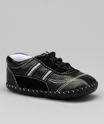 Black Double Stripe Sneaker
