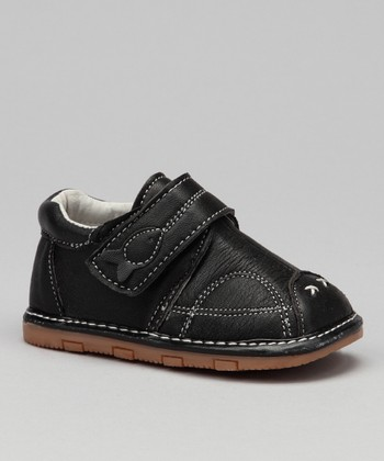 Luna Shoes Black Fish Shoe
