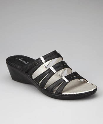 Black Lady 11 Wedge Sandal
