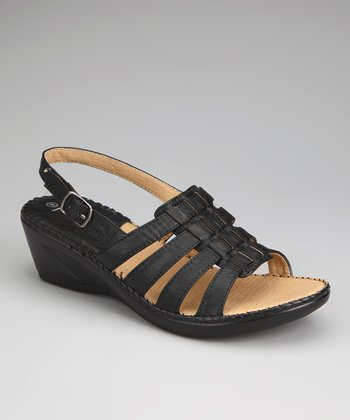 Black Lady 18 Wedge Sandal