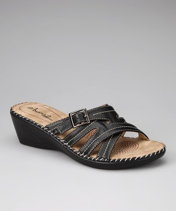 Black Lady 22 Wedge Sandal