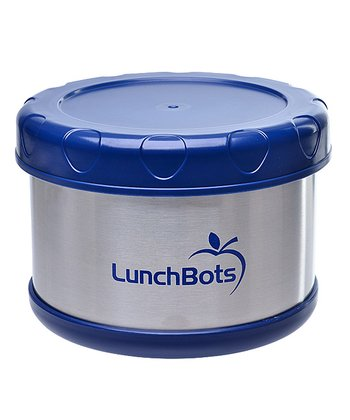 Dark Blue 16-Oz. Insulated Food Container