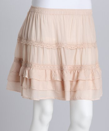 Fawn Short Ruffle Skirt