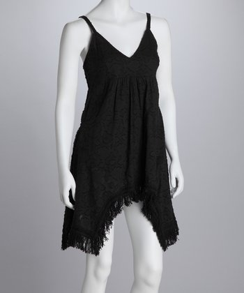 Black Sidetail Sundress
