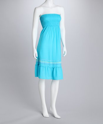 Turquoise Convertible Dress