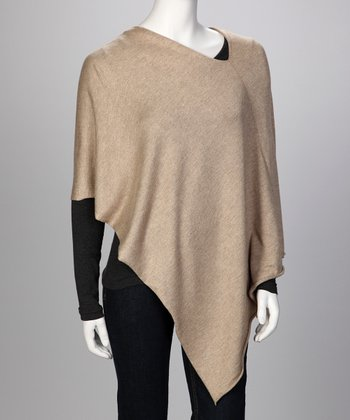 Camel Ever Poncho - Women & Plus