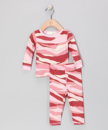Pink Camouflage Top & Bottoms - Infant