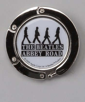 White 'The Beatles Abbey Road' Purse Hook