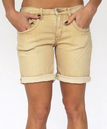 Birchwood Berkeley Cuffed Jean Shorts
