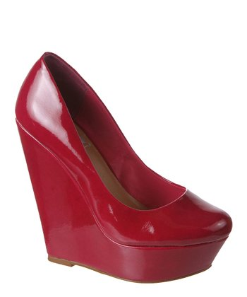 Fuchsia Starlite Wedge