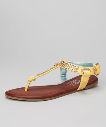 Yellow Alda 1 Sandal