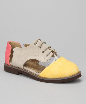Yellow & Gray Oxford