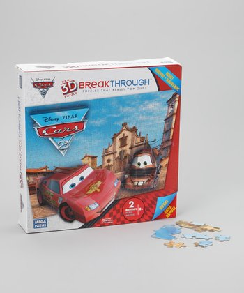 Cars 3-D Breakthrough Puzzle