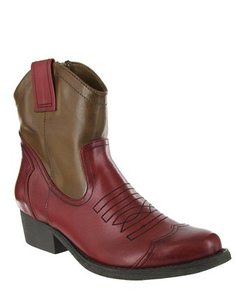 Red & Natural Jazlyn Boot