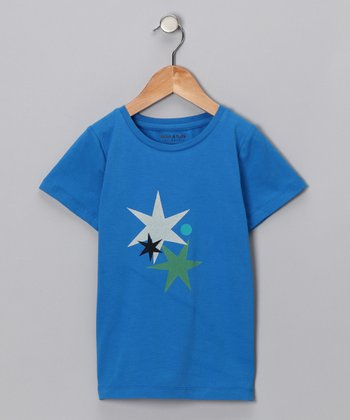 Blue Skydiver Artist Tee - Toddler & Boys