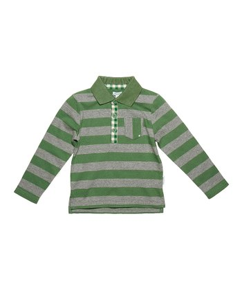 Comfrey Green Hartvig Polo - Infant, Toddler & Boys