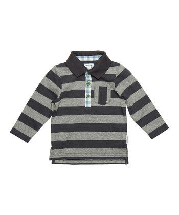 Ombre Blue Hartvig Polo - Infant, Toddler & Boys