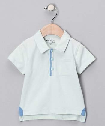 Pale Blue Ketil Polo - Infant & Toddler