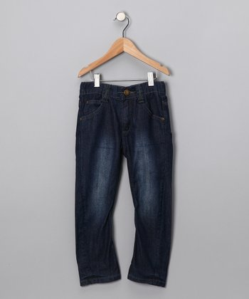 Moonlight Blue Pede Jeans - Toddler & Boys