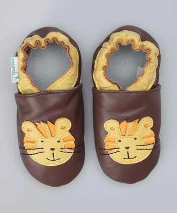 Brown Tiger Booties