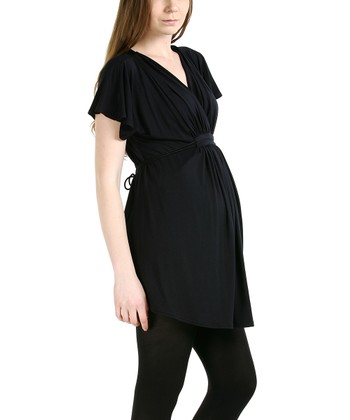Black Athena Maternity Tunic