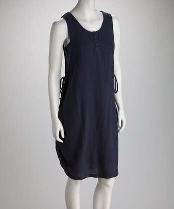 Perry Blue Layered Racerback Dress