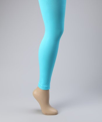 Aqua Footless Tights Set - Women
