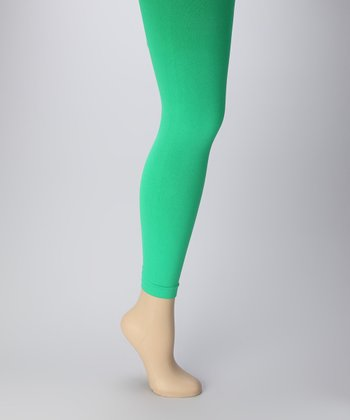 Green Leggings Set