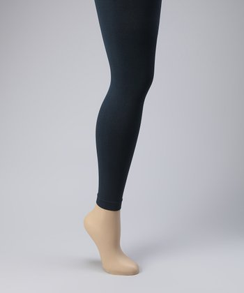 Navy Footless Tights Set