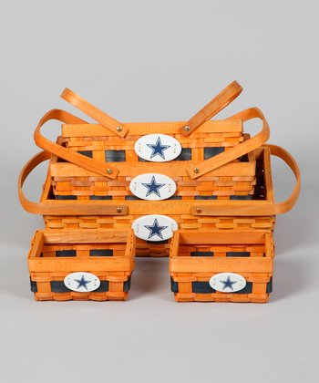 Dallas Cowboys Basket Set