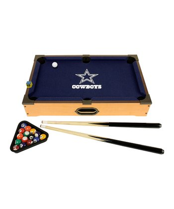 Dallas Cowboys Tabletop Billiards Set