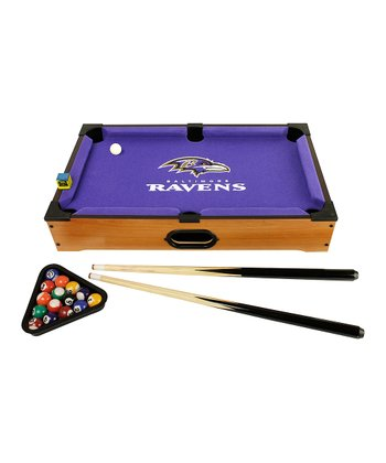 Baltimore Ravens Tabletop Billiards Set