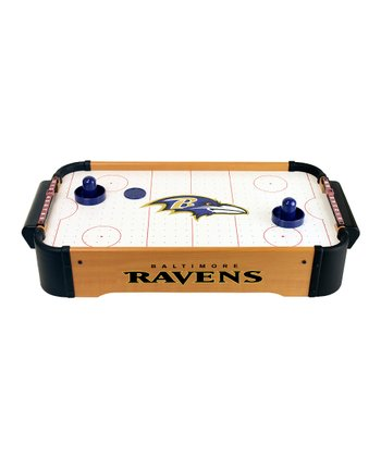 Baltimore Ravens Tabletop Air Hockey Set