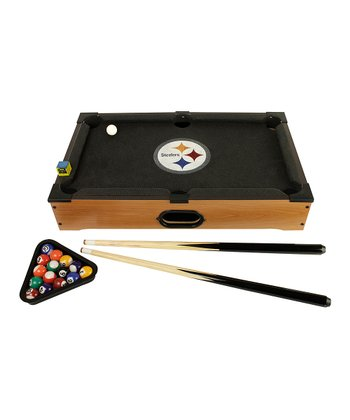 Pittsburgh Steelers Tabletop Billiards Set