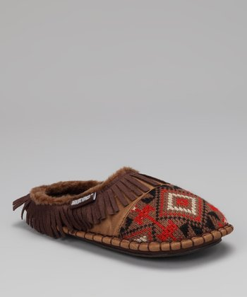 Adobe Mud Kaya Mule Moccasin - Women