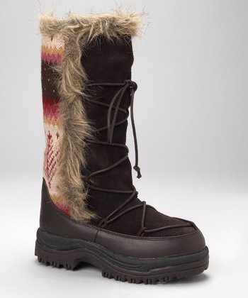 Brown Sesu Boot - Women