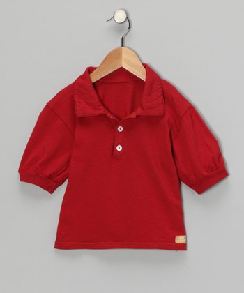 Red Polo - Infant, Toddler & Kids