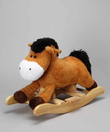 Brown Sound Mini Rocking Horse