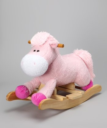 Pink Sound Mini Rocking Horse