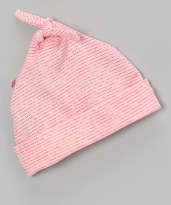 Pink ABC Single-Knot Beanie - Infant