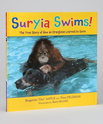 Suriya Swims! Hardcover