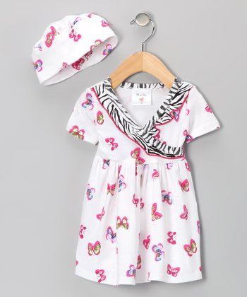 Farfallas Are Free Surplice Dress - Infant & Toddler
