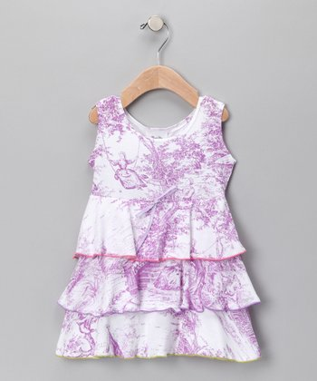 Lavender Lovely Havana Dress - Infant & Toddler