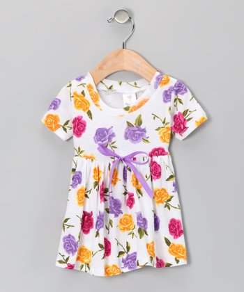 Warhol Rose Dolly Organic Dress - Infant