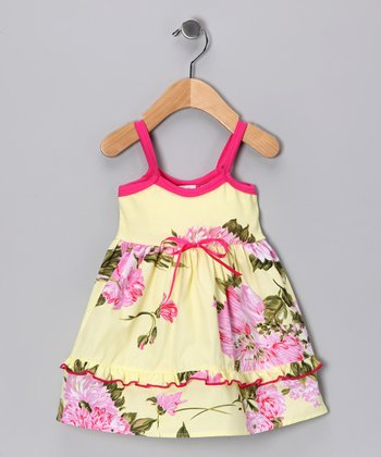 Palm Beach Floral Dress - Infant & Toddler