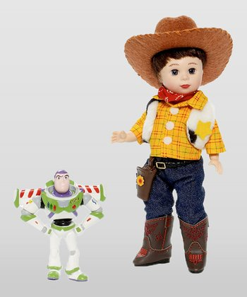 Jack Loves Toy Story Doll & Buzz Figurine
