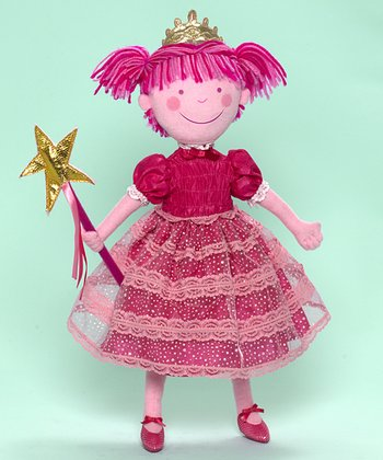 Pinkatitis Cloth Doll