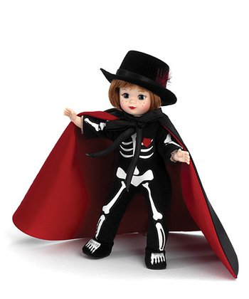 Halloween Collection Bonesy Doll