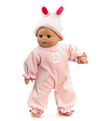 Honey Bunny Baby Cuddles Doll