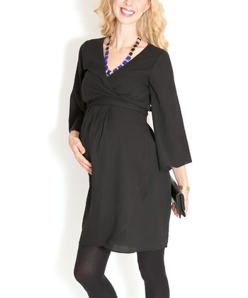 Black Is the New Black Maternity Dress